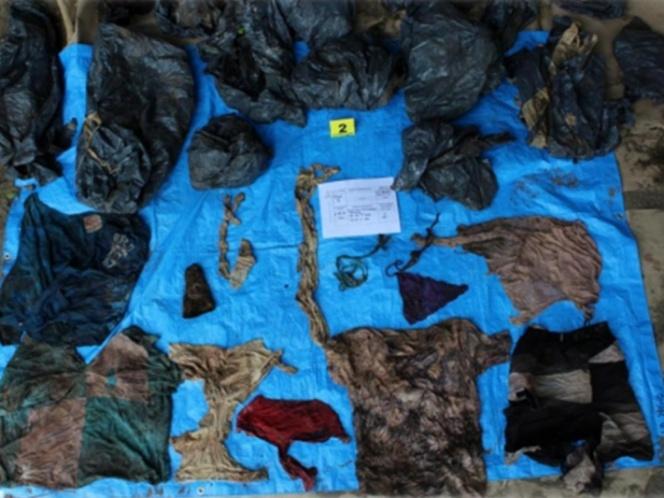 166 cuerpos Fosas clandestinas