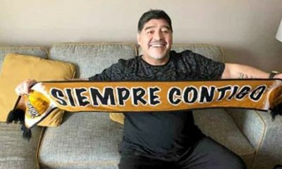 Maradona llega a sinaloa