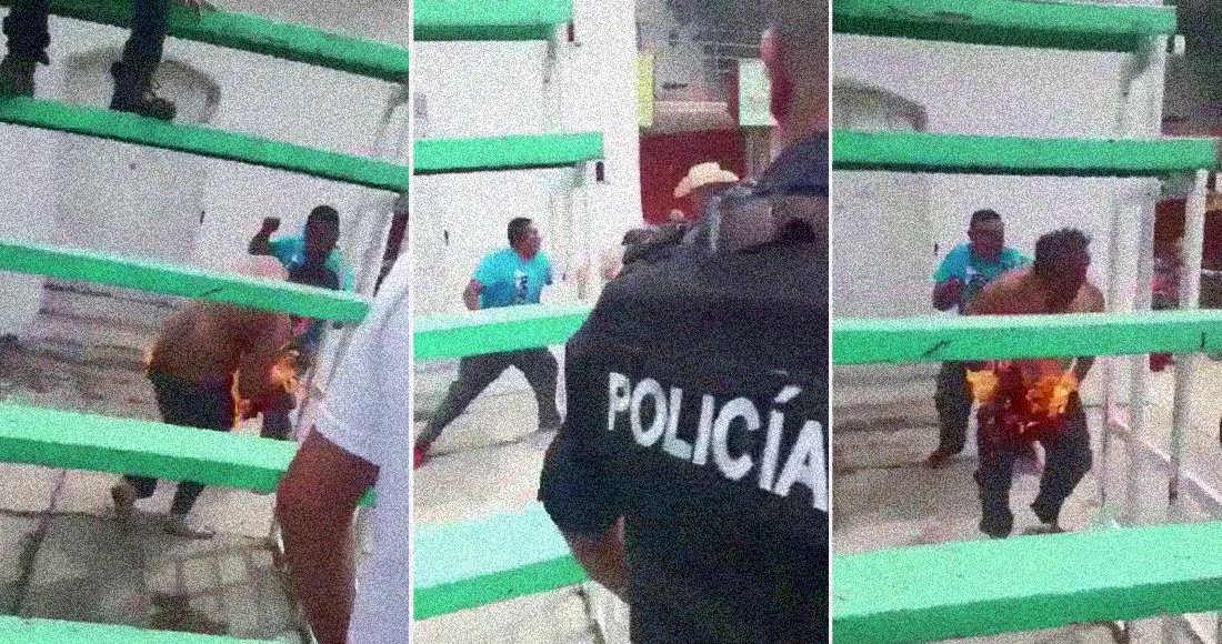 Metepec, Hidalgo, policia muerto