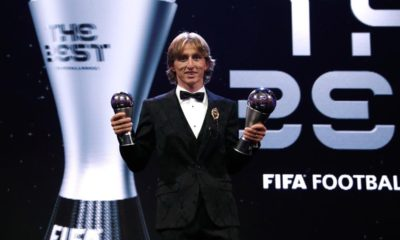 Modric, The Best, FIFA, 2018