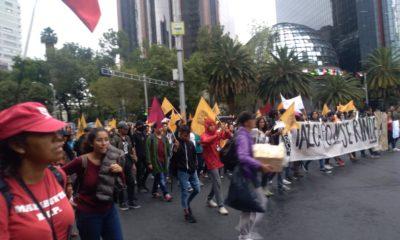 unam marcha estudiantes porros zocalo