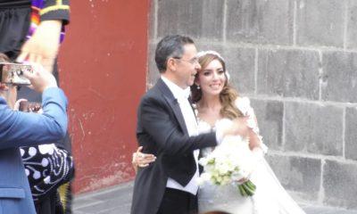 César Yánez boda