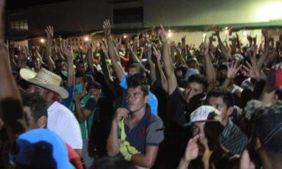 Caravana migrante en Oaxaca