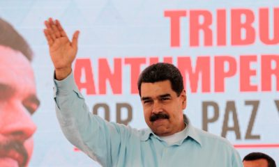 Maduro, Caderón, No eres bienvenido