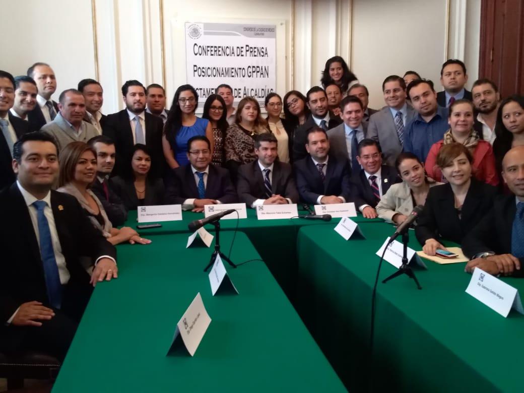 PAN, Morena, Congreso Local CDMX