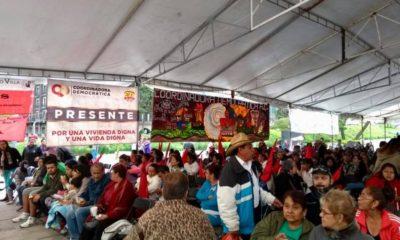 organizaciones populares protestan NAIM