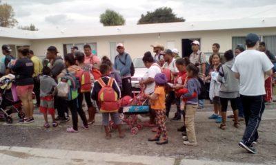 caravana migrante puebla