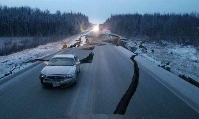 Alaska sufrió un terremoto de magnitud 7.0 esta mañana