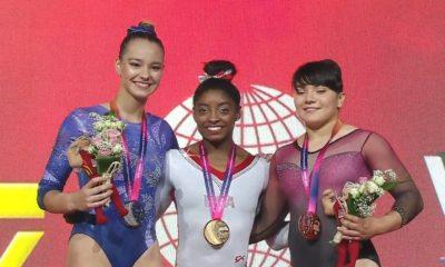Alexa Moreno gana Bronce en Campeonato Mundial de Gimnasia