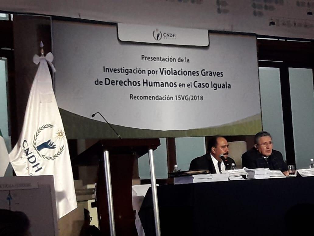CNDH, Ayotzinapa