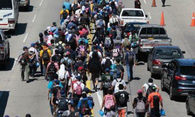 Caravana migrante, El Salvador, México