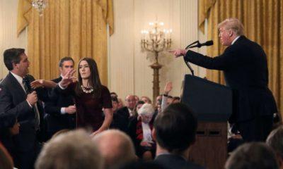 Donald Trump es demandado por CNN por quitar acreditación a Jim Acosta