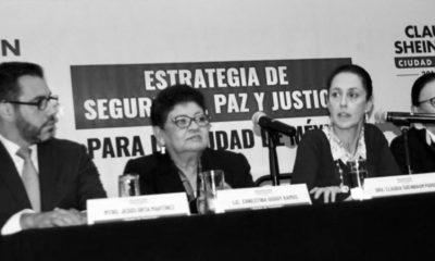 Ernestina Godoy promete una PGJ-CDMX más social, prevención