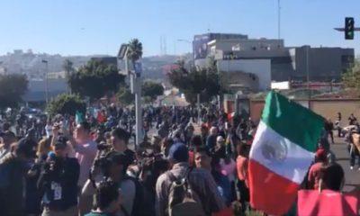 Mèxico, Tijuana, migrantes