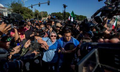 Migrantes, Tijuana, Protestas