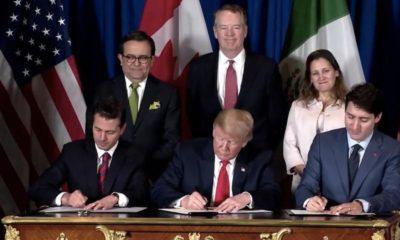 Peña Trump Trudeau TMEC