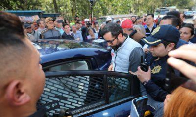 Victor Hugo Romo no está detenido, fue de manera voluntaria a declarar