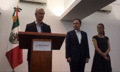 Del Mazo, Sheinbaum, Durazo, seguridad pública