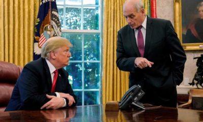 John Kelly, Trump, Muro, intransigente