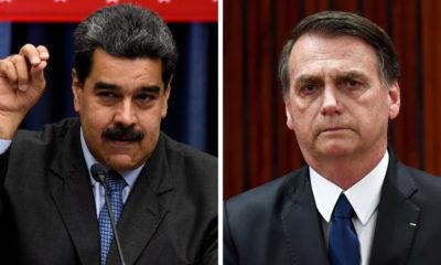 Maduro, Bolsonaro, Brasil