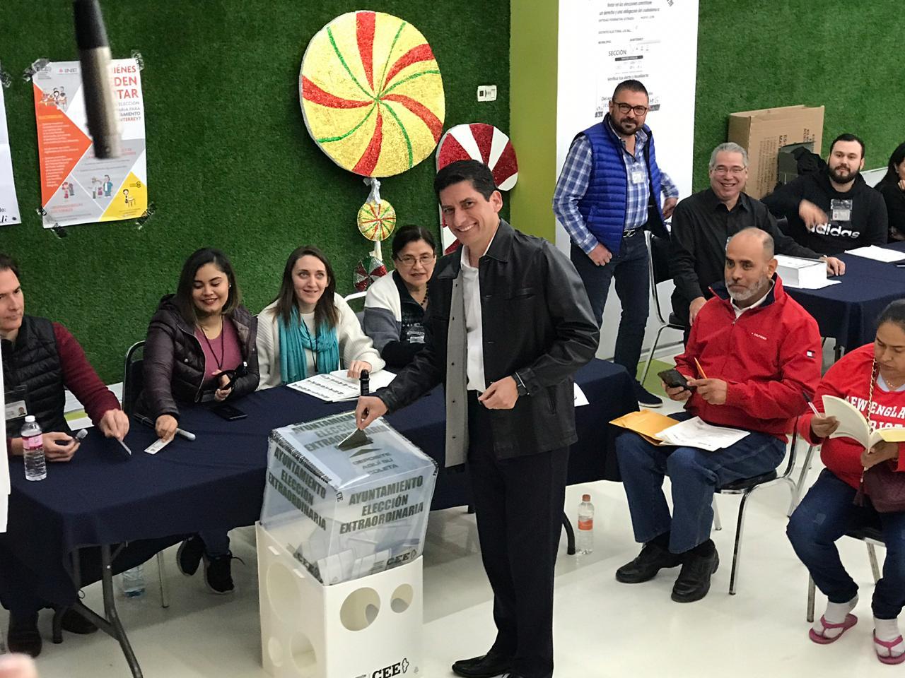 PAN y PRI se declaran ganadores de los comicios electorales en Monterrey