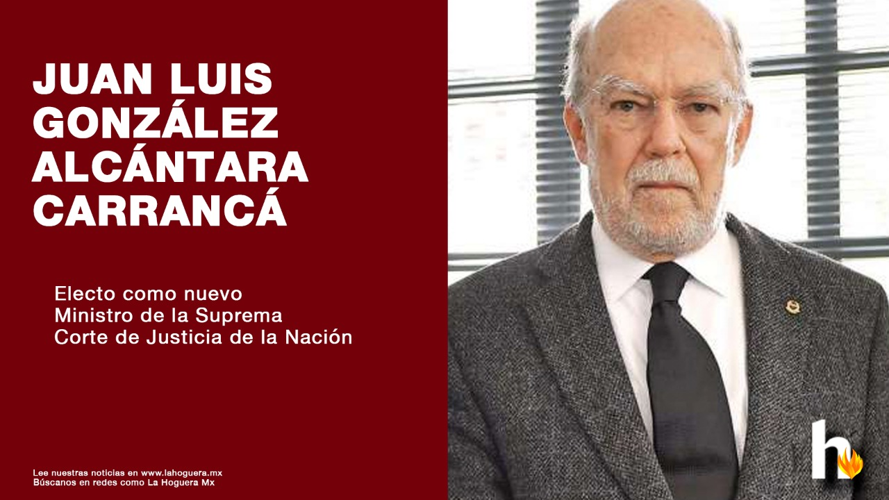 Juan Luis González Alcántara, nuevo ministro de la Corte
