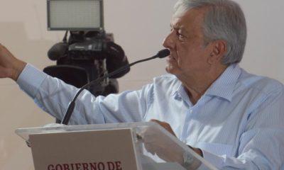 AMLO visitó Sinaloa y prometió financiamiento para dos presas en el sur de la entidad