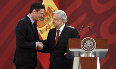 Pedro Sánchez agradece la hospitalidad y recibimiento de Andrés Manuel López Obrador en su visita de Estado