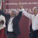 AMLO visitó esta tarde los municipios de Acambay e Ixtalhuaca en el Estado de México
