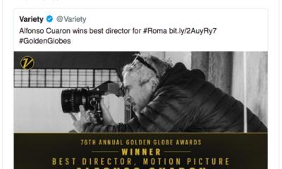 Roma, Cuarón, Alfonso, premios, Golden Globes, premiación, Yalitza Aparicio, guillermo del Toro, Iñarritú, Gael García, Diego Luna, Eiza González,