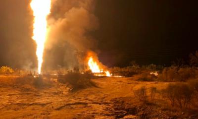 San Agustín Tlaxiaca, Hidalgo, Durazno, Explosión, ducto, Pemex, huachicol, huachicolero, fuego, incendio, robo, ejercito, militares, bomberos, carretera,