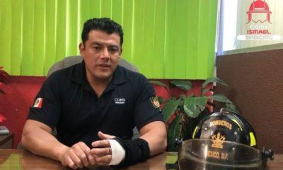 Ismael Figueroa, Sheinbaum, Bomberos