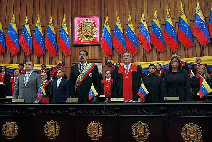 Nicolás Maduro, asunción