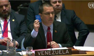 El canciller venezolano demandó que se respete la autodeterminación de los pueblos y reclamó la intervención de países europeos en sus asuntos
