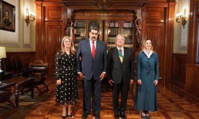 Maduro, Amlo, presidencia