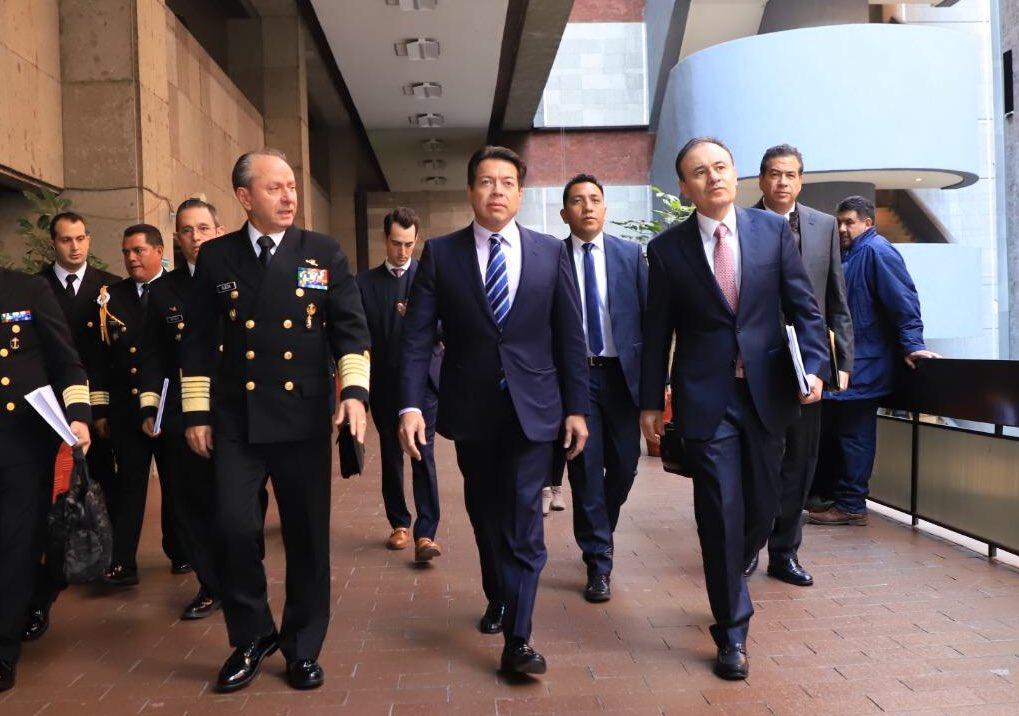 Mario Delgado, Alfonso Durazo, Guardia Nacional
