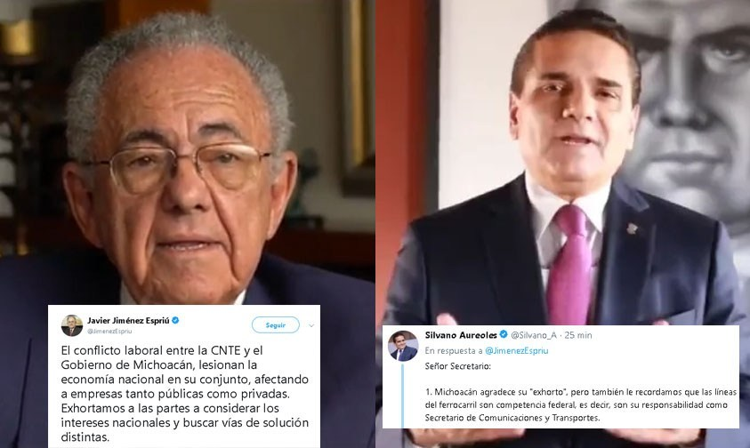 Jiménez Espriú, Silvano Aureoles