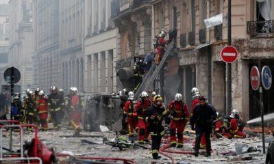 Explosión en París deja 3 muertos y 47 heridos; 10 de éstos graves