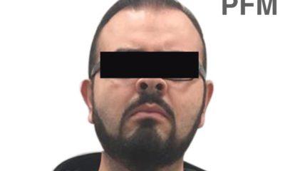 Rodrigo Vallejo fue detenido por la FGR acusado de delitos de delincuencia organizada