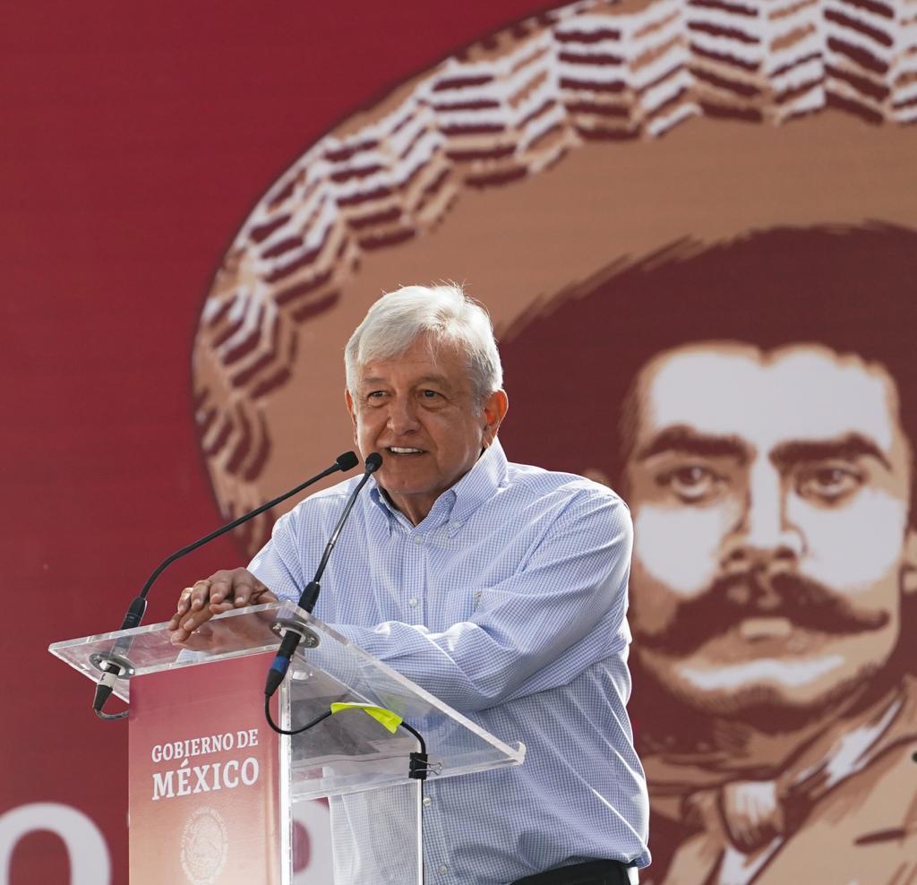 """Andrés Manuel López Obrador ha mostrado admiración por distintos """"héroes"""" de la historia de México, entre ellos Emiliano Zapata"""