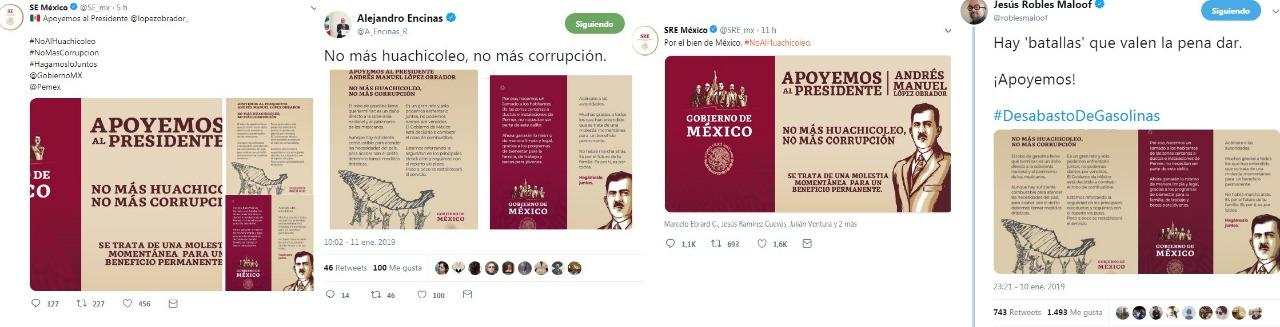 Twitter de SRE y Energía se equivocan y violan Constitución