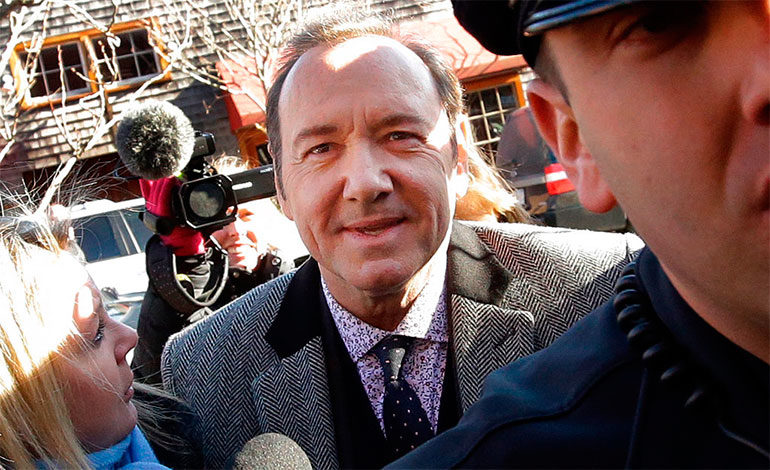 kevin, kevin spacey, spacey, libertad, fianza,William Little, juez, libre,