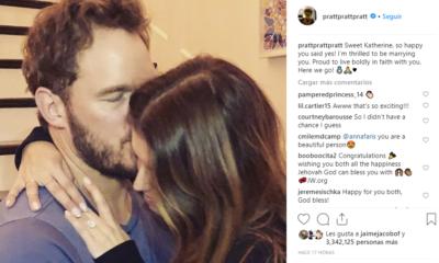 Chris Pratt y Katherine Schwarzenegger se comprometen