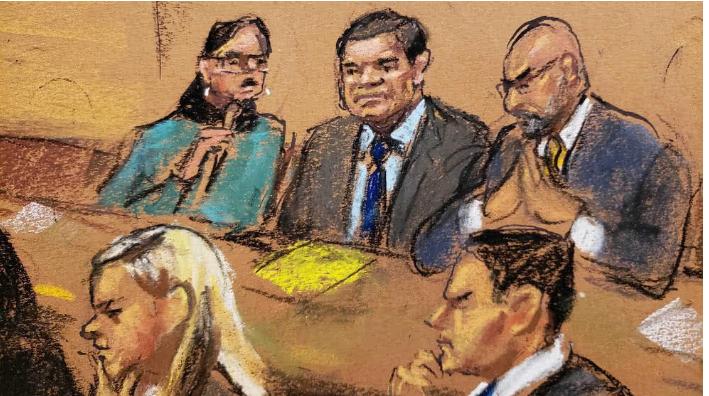 Chapo Guzmán, fue juzgado durante los últimos dos meses y medio, hoy la Corte resolvió en su contra