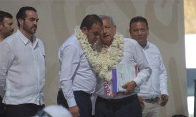Este día, Andrés Manuel López Obrador visitó Cuautla para hablar de la termoeléctrica
