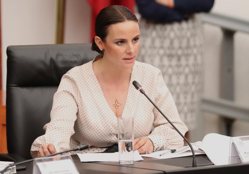 Nancy de la Sierra pide nuevamente que la candidatura de Morena-PES-PT sea elegida por encuesta