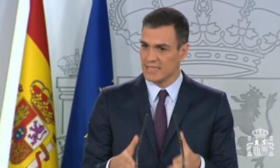 Pedro Sánchez, presidente de España, confirmó el día de hoy que habrá elecciones generales en el país Europeo