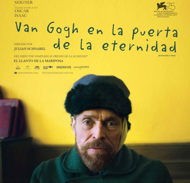 Van Gogh Puerta eternidad