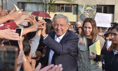 """AMLO en Tlatelolco: """"terminó la pesadilla"""" del abandono a los jóvenes"""
