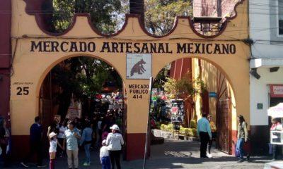 """Coyoacán, el lugar donde existe un mercado de artesanos, quienes se dicen los """"legítimos"""" frente a los que hoy buscan instalarse en el centro de la Alcaldía"""